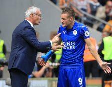 Jamie Verdy señaló que son falsas las acusaciones de que él influyó en la salida de Ranieri (Foto Prensa Libre: Hemeroteca PL)