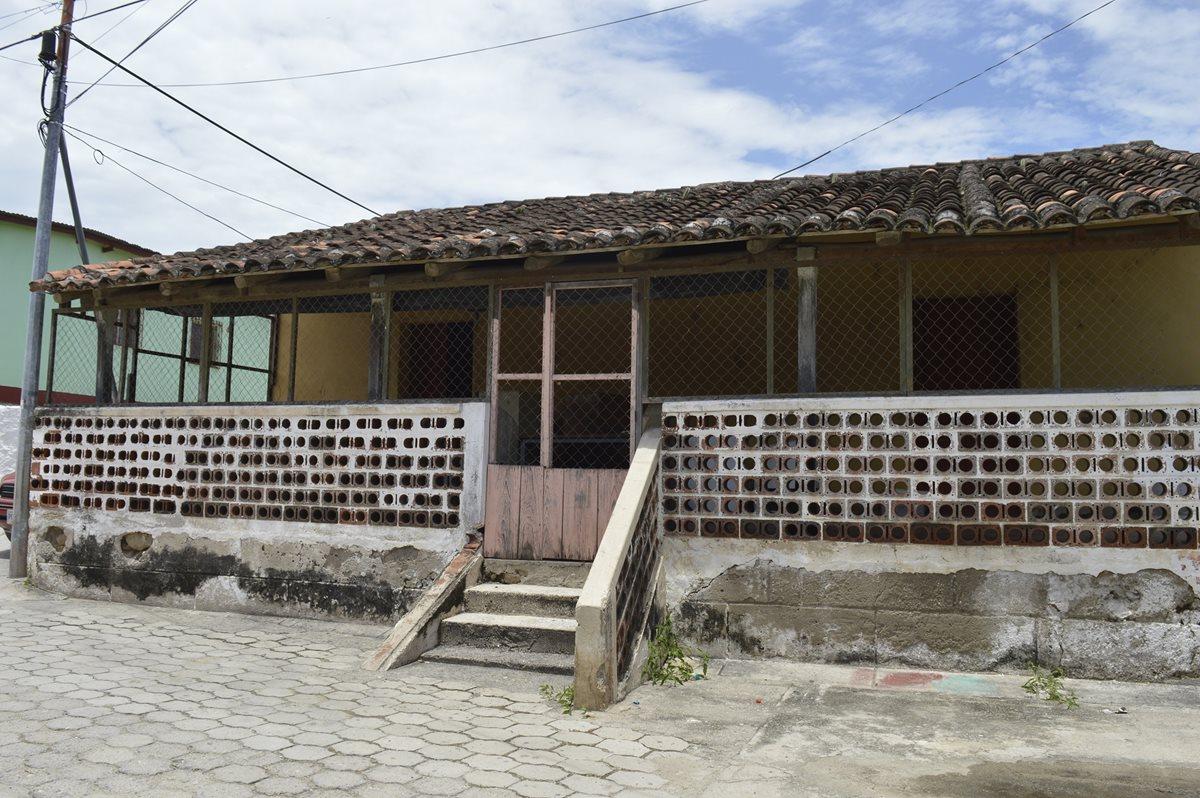 Vivienda donde nació Arnoldo Vargas en Manzanotes, Zacapa. (Foto Prensa Libre: Mario Morales)