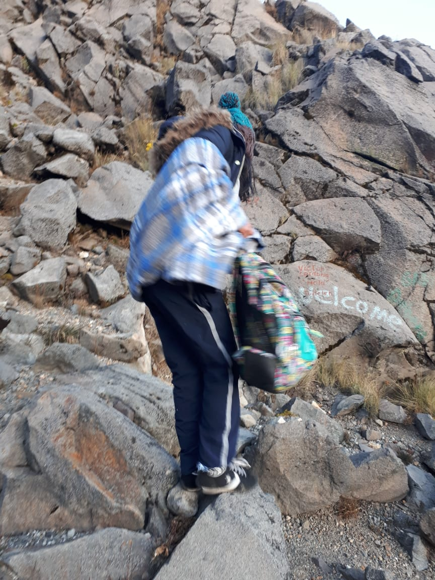 Turistas escalaron el volcán Tajumulco y entraron en hipotermia.