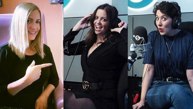 (De izquierda a derecha) Rachel Bland es presentadora de noticias de BBC Radio 5 y lleva un año en tratamiento por un cáncer de pecho recurrente; Deborah James es una madre de 35 años con cáncer intestinal en fase 4; y Lauren Mahon, que era ya una exitosa bloguera cuando la diagnosticaron con cáncer a los 31 años.