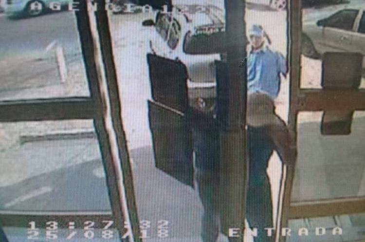 Prensa Libre obtuvo acceso a las fotografías del video de la agencia cuando sucedió el robo. (Foto Prensa Libre: Hemeroteca)