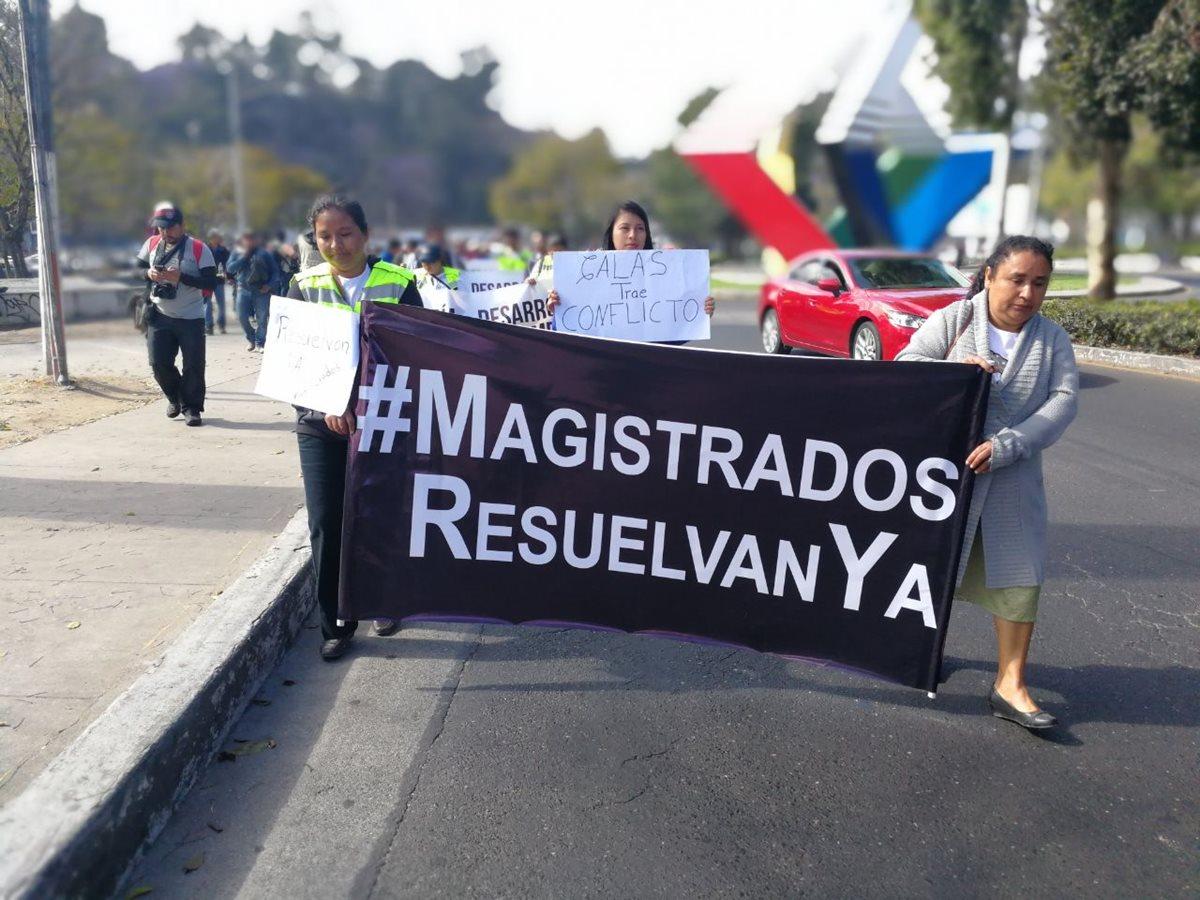 Trabajadores de la Mina San Rafael piden que no haya más despidos