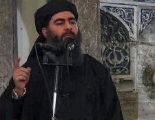 Abu Bakr al Bagdadi, jefe del Estado Islámico. (Foto Prensa Libre: EFE)
