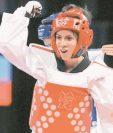 Elizabeth Zamora es una de las mejore exponentes del taekuondo en Guatemala. (Foto Prensa Libre: Hemeroteca PL)