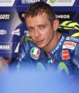 El piloto italiano Valentino Rossi espera volver a competir después de haber sufrido una fractura hace tres semanas. (Foto Redes).