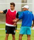 Rodrigo Saravia podría ser el volante de contención de la Selección Nacional contra Estados Unidos. (Foto Prensa Libre: Norvin Mendoza).