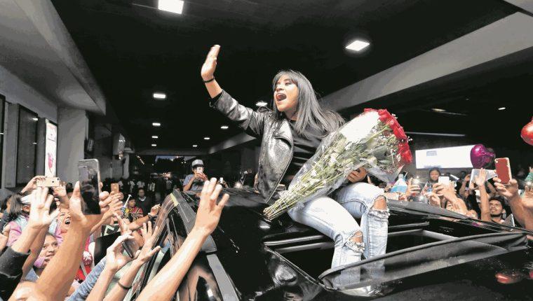 Paola Chuc y su triunfo musical, protagonista en las búsquedas de Google (Foto: Hemeroteca PL).
