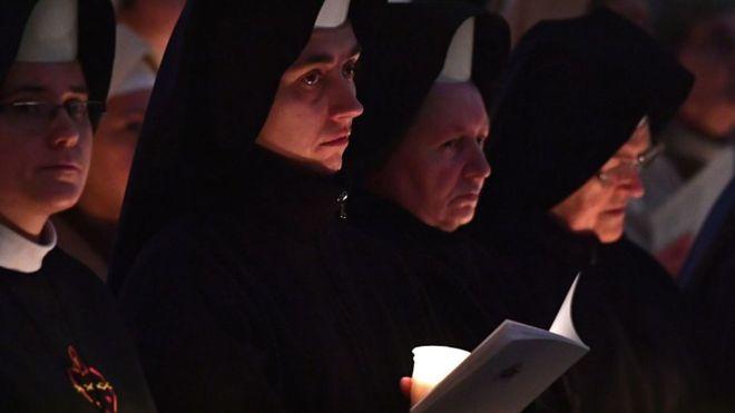 """Un artículo del diario oficial del Vaticano revela cómo muchas monjas están sometidas a una vida de servidumbre. Según el director de la publicación, es una señal de que las cosas """"sin duda, van a cambiar"""". GETTY IMAGES"""