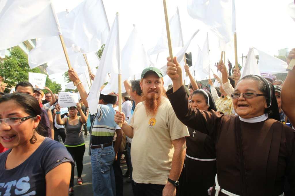 Dentro de los sectores que manifestaron su descontento estuvo la iglesia.