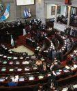 La agenda en el Congreso para la sesión de este martes está vacía y aún no se define cuáles serán los temas propuestos o leyes a aprobar. (Foto Prensa Libre: Hemeroteca PL)