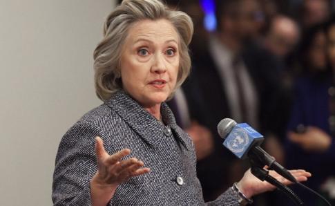El equipo de campaña de Hillary Clinton y el Partido Demócrata fueron objeto de múltiples ataques para robarles información durante la carrera presidencial en EE.UU. en 2016. GETTY IMAGES