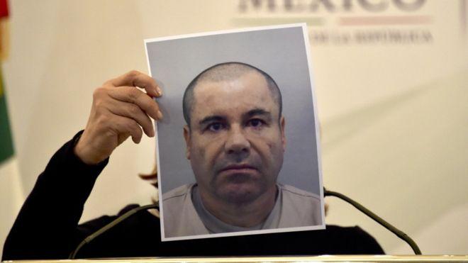 """Joaquín """"El Chapo"""" Guzmán, exlíder del Cartel de Sinaloa, está encarcelado en una prisión de máxima seguridad. GETTY IMAGES"""