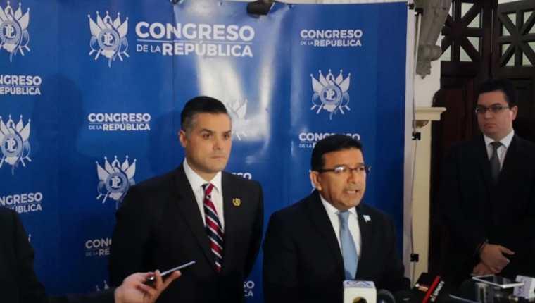 El MR pone distancia con la bancada oficialista de cara a un año electoral. (Foto Prensa Libre: Carlos Álvarez)
