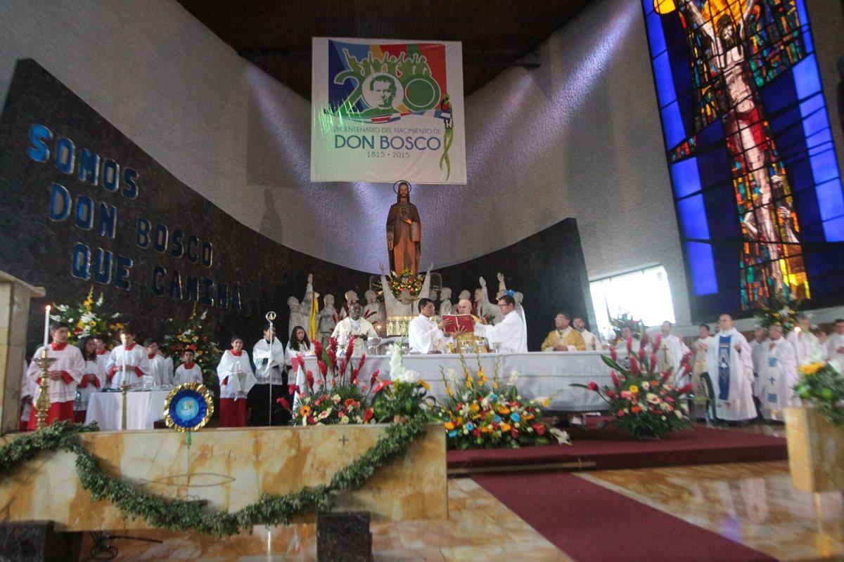 Guatemaltecos celebran nacimiento de Don Bosco