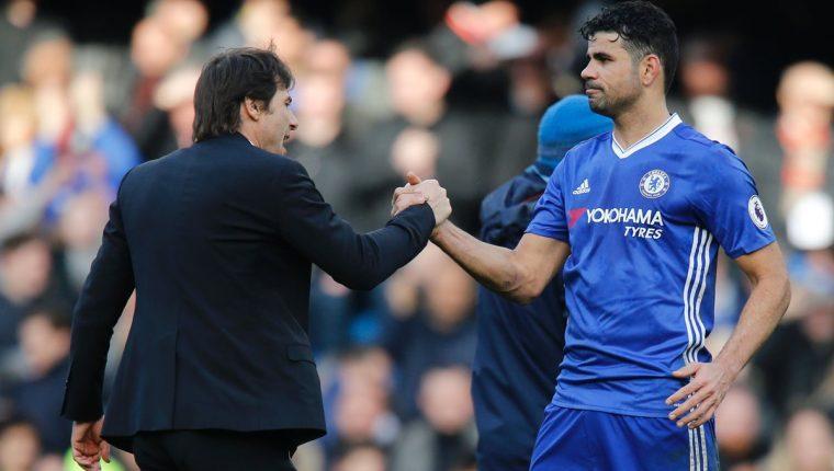 Diego Costa ha recibido ofertas interesantes para jugar en China. (Foto Prensa Libre: Hemeroteca PL)