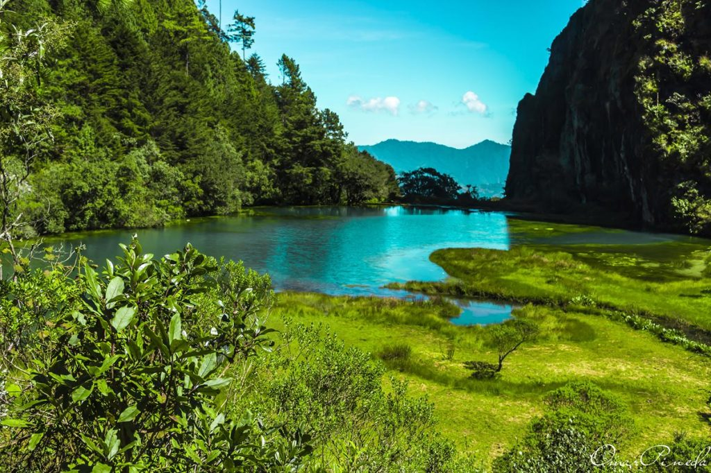 Los turistas la recuerdan como un verde paraje en el que el agua cristalina abundaba a finales del 2015.