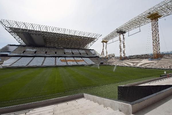 EL ESCENARIO deportivo conocido como Itaquerao albergará la inauguración del Mundial.