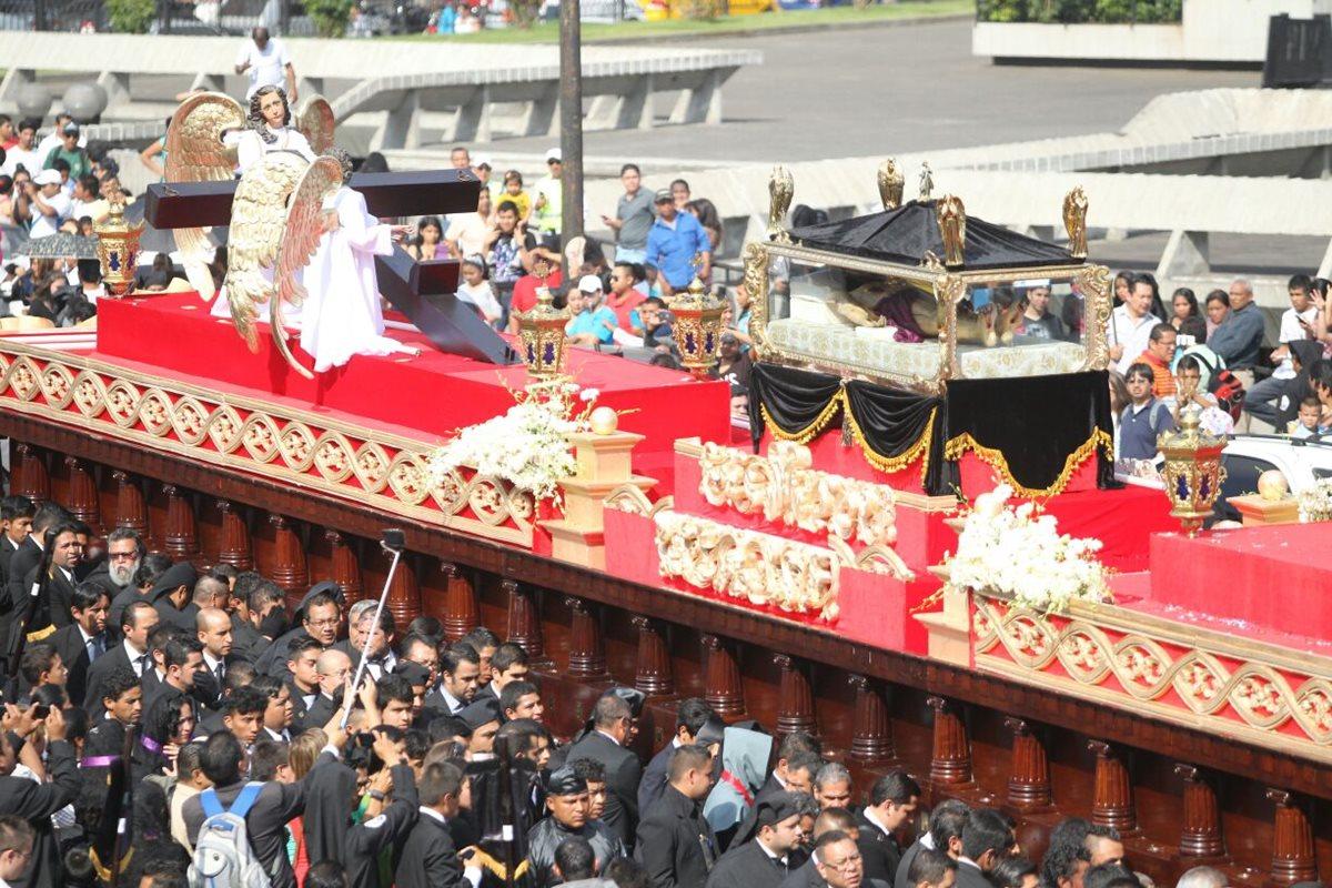 Nueve procesiones de Viernes Santo recorren el Centro Histórico
