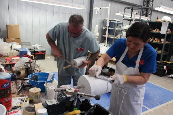 El Taller de producción de prótesis   está instalado en Intervida,  aldea Santa Rita, Sololá.