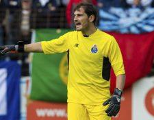 Iker Casillas piensa seguir en el FC Porto. (Foto Prensa Libre: Hemeroteca PL)