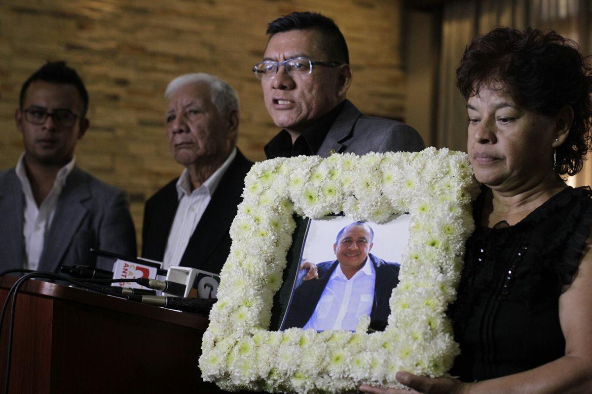 Familiares de abogado José Francisco Yax exigen justicia