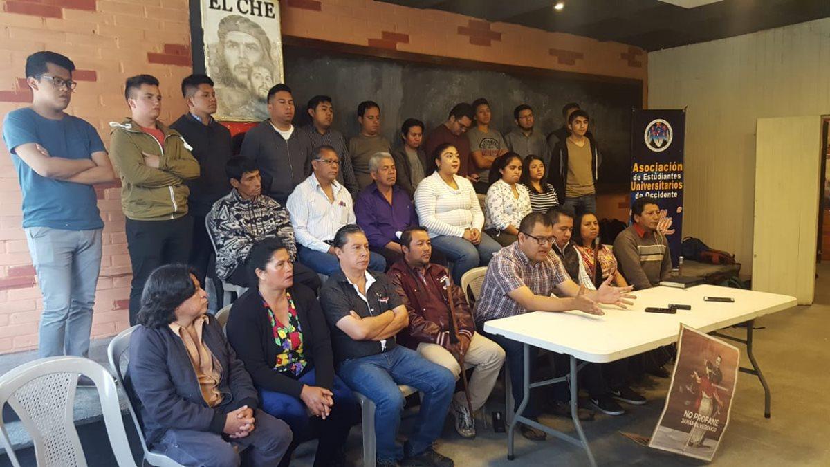 Las diez demandas de la marcha en Xela contra Jimmy Morales y el Pacto de Corruptos