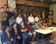 Diferentes sectores participarán junto a los estudiantes del Cunoc en la protesta del próximo jueves. (Foto Prensa Libre: Fred Rivera)