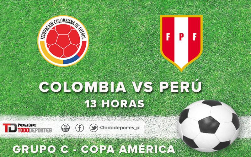 Colombia y Perú disputarán un intenso duelo en Temuco. (Foto Prensa Libre: TodoDeportes)