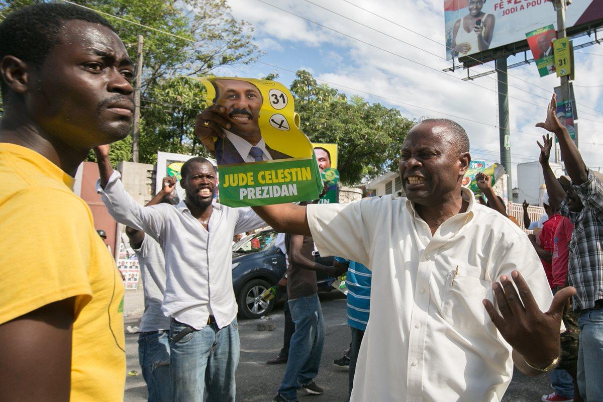 Haití afronta segunda jornada de protestas contra datos electorales