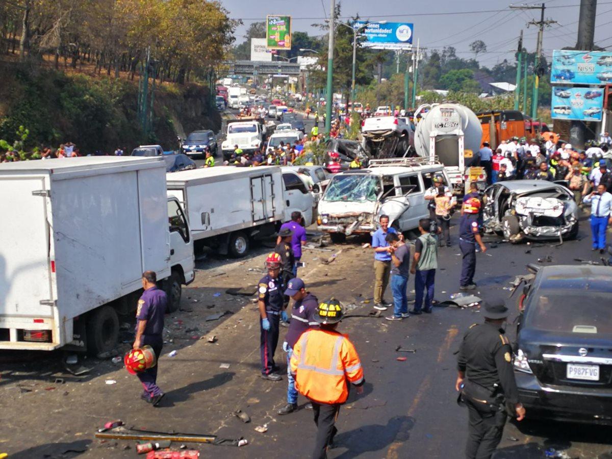 La PMT reporta embotellamiento vehicular en la Roosevelt y la ruta Interamericana