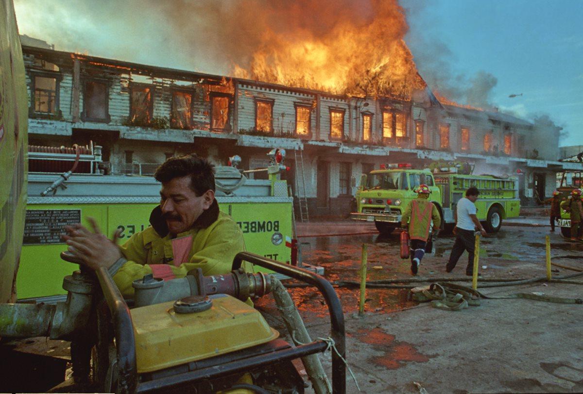 Hubo sospechas de mano criminal en incendio ocurrido en el edificio central de Fegua