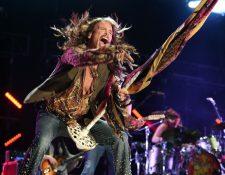 Steven Tyler, confirmó que Aerosmith realizará gira de despedida en 2017. (Foto Prensa Libre: DPA)