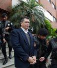 Martínez fue capturado el 9 de julio de 2015, en el apartamento del edificio Real de la Villa, zona 10, ahora embargado. (Foto Prensa Libre: Hemeroteca PL)