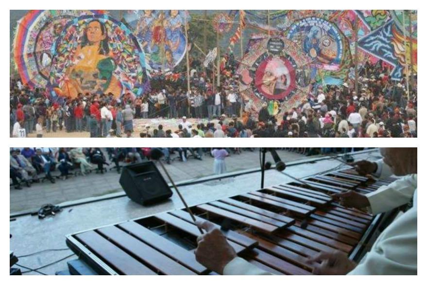 Barriletes de Sumpango, una pieza que destaca las tradiciones guatemaltecas