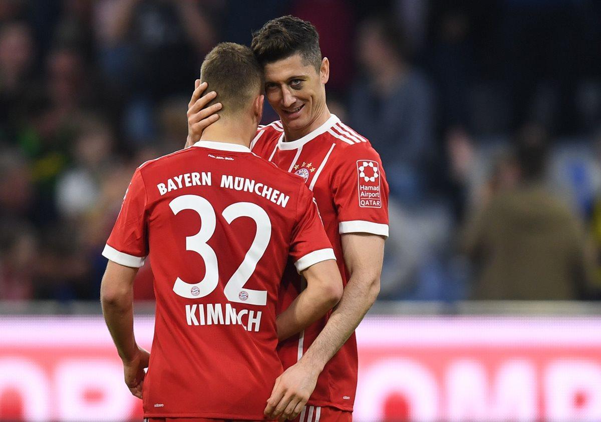El Bayern se prepara para el Real Madrid con goleada 5-1 sobre el Gladbach