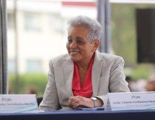 Yolanda Perez Ruiz  fue directora de la PGN (Foto Prensa Libre: Hemeroteca PL)