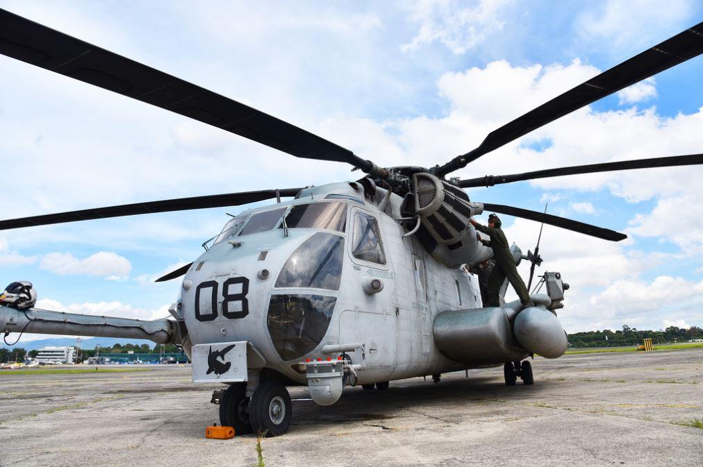 El helicóptero más grande del Ejército estadounidense está en Guatemala