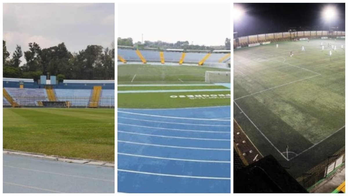 Comunicaciones tiene registrado ante la Liga el estadio Doroteo Guamuch Flores, el Cementos progreso y el Julio Armando Cóbar. (Foto Prensa Libre: Hemeroteca PL)