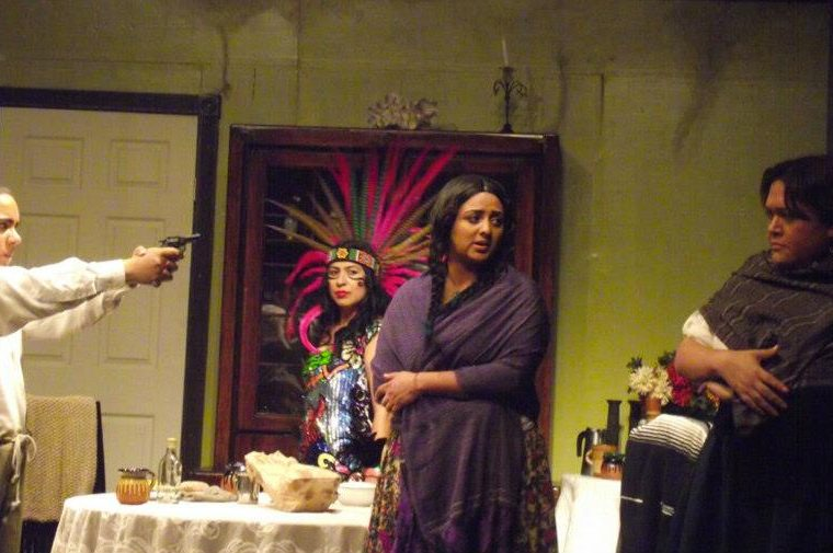 Soldaderas, de Rubén Amavizca, es otro de los proyectos de teatro en los que la actriz nacional ha estado. (Foto Prensa Libre: Cortesía Mariana Marroquín)