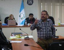Salomé Armando Gómez Hernández, de 48 años, el único sobreviviente que pudo escapar de los soldados, señaló al kaibil Santos López Alonzo. (Foto Prensa Libre Erick Avila)