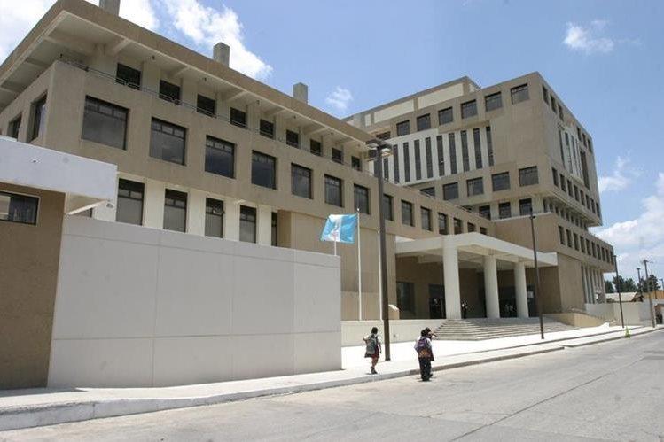 La sede central del Ministerio Público (MP) en el barrio Gerona, zona 1. (Foto Prensa Libre: Hemeroteca)