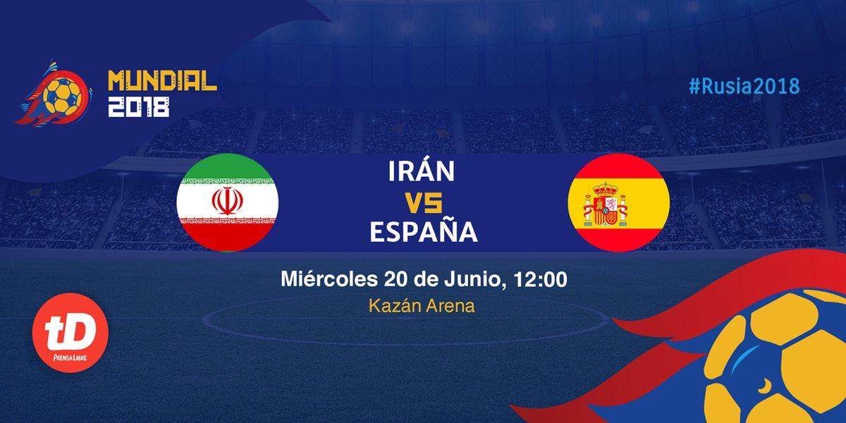 Minuto a minuto | Irán vs España