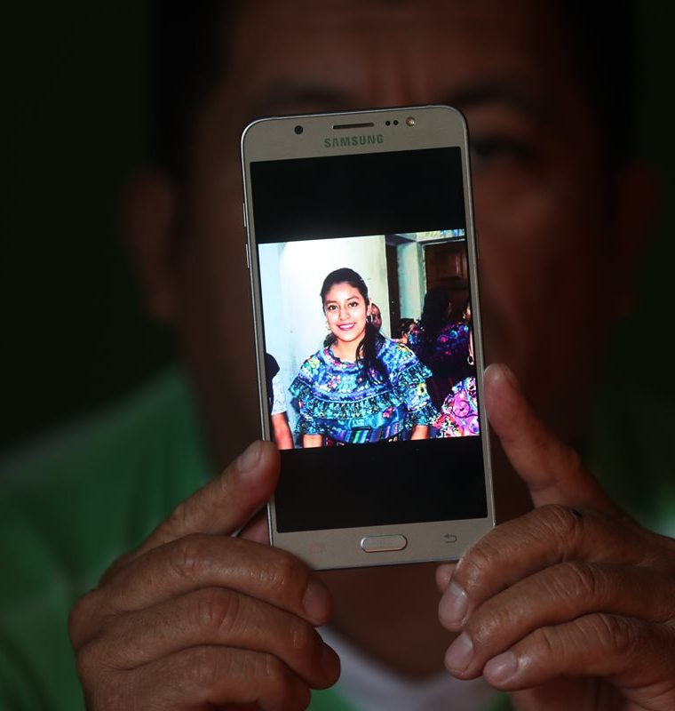 María Herlinda Ruiz, murió en su intento de llegar a EE. UU. Ya había migrado de Cubulco a Escuintla en busca de trabajo, pero la paga no era suficiente. (Foto Prensa Libre: Érick Avila)