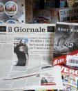 """Diario italiano """"Il Giornale"""" causa polémica al regalar libro de Hitler. (Foto Prensa Libre: AP)"""