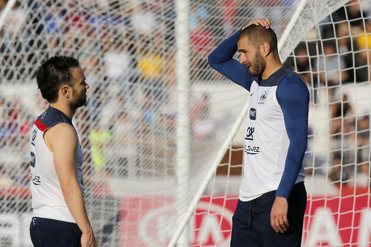 La jueza rechaza la petición de un careo entre Benzema y Valbuena