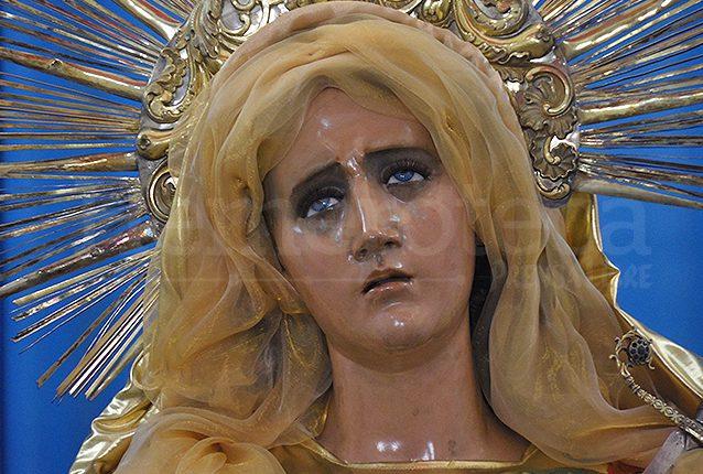 La Virgen de Dolores del Manchén fue consagrada el 23 de mayo de 1738. (Foto: Néstor Galicia)