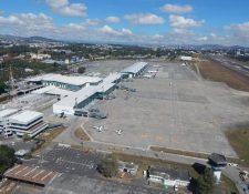 El Aeropuerto Internacional La Aurora ha pasado por varias remodelaciones. (Foto, Prensa Libre: Hemeroteca PL).