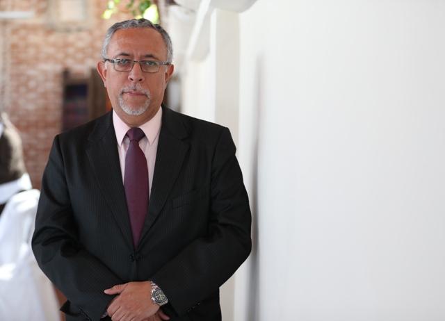 González es contador público y auditor y en el 2015 laboró en la Intendencia de Aduanas de la SAT. (Foto Prensa Libre: Carlos Hernández)