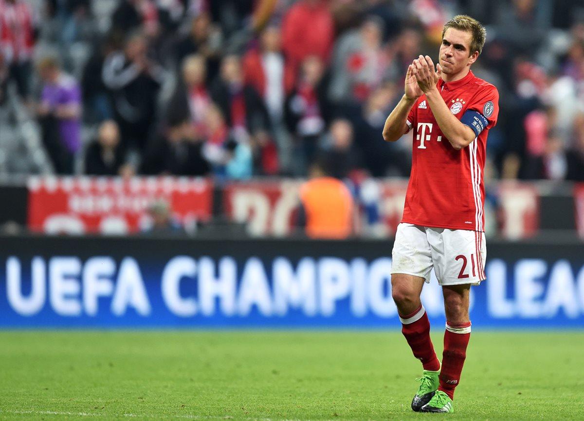 El futbol alemán despide a una leyenda: Lahm cuelga las botas