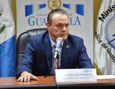 El Ministro de Salud, Carlos Soto, envió una carta a todo el personal en relación al paro de labores. (Foto Prensa Libre: Archivo)